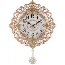 часы настеные кварцевые с маятником 204-245