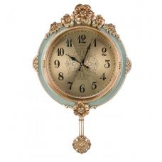 часы настеные кварцевые с маятником 204-248