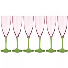 н-р бокалов Kate Optic д/шампанско 6шт220мл674-677