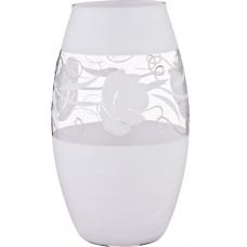 ваза Roses White 30см 316-1297