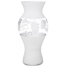 ваза Roses White 37см 316-1305