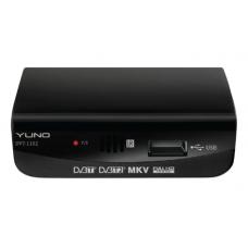 Ресивер Yuno DVT-1102 черный