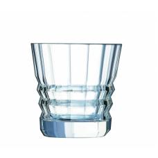 Набор из 6-ти низких стаканов ARCHITECTE Cristal d'Arques 320 мл