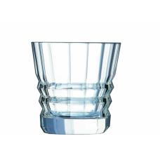 Набор из 6-ти низких стаканов ARCHITECTE Cristal d'Arques 380 мл