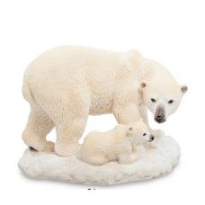 """стат-ка """"Белый медведь с детенышем""""WS-706"""