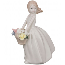 """стат-ка """"Девушка с цветами"""" 146-615"""