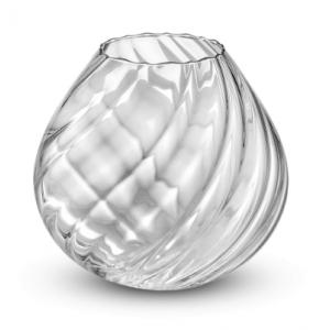 ваза Nuvola 26см прозрачн.