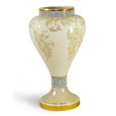 ваза Глициния кремовая 33см