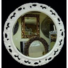 """зеркало """"Мишель"""" бел.мат. d90см"""