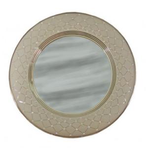 "зеркало настен. круглое ""Murano Tortora White"" 48см"
