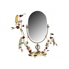 "зеркало настол. ""Попугаи"" 73см 341-165"