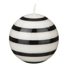 свеча Black&White 8см 348-563