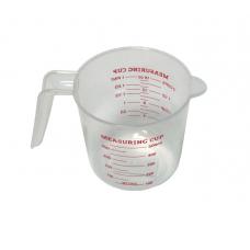 стакан мерный 0,5л пластик