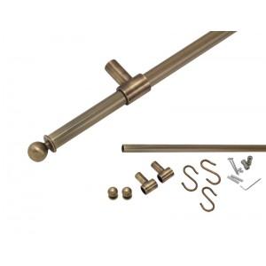 Longran KIT602 OA (Трубка 60 см, Крепежи, Заглушки, Крючки)