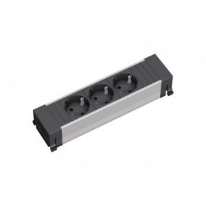 блок-розетка Power Frame 317.117 черн.