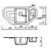 Kuppersberg Lavanda 1,5B1D ecru
